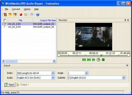 WinXMedia DVD Audio Ripper