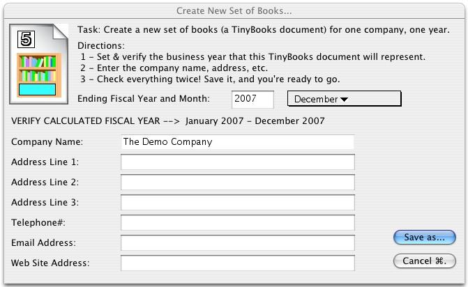 TinyBooks (Macintosh)