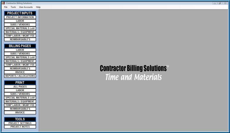 Contractor Billing Solutions