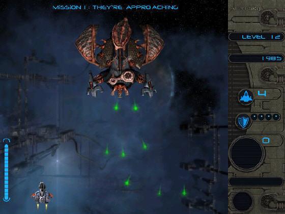 Alien Typing Wars