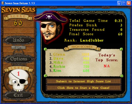 screen seven games