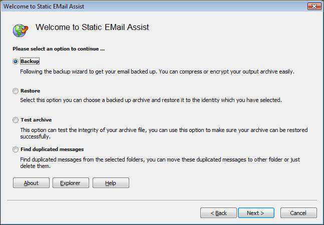 Static Email Assist