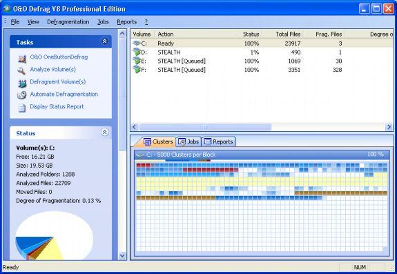 O&O Defrag V8.0 Professional Edition