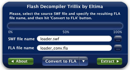 Flash Decompiler Trillix for Mac