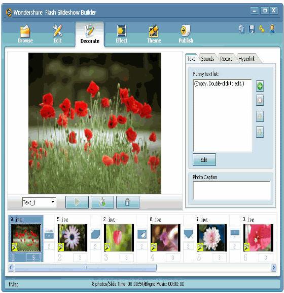 how to make a screensaver slideshow