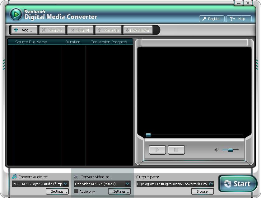 Daniusoft Digital Media Converter