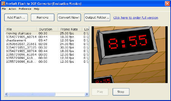 AnvSoft Flash to 3GP Converter