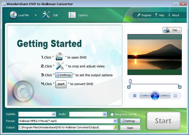 Burn Video to DVD/Blu-ray Disc/BD Folder/ISO