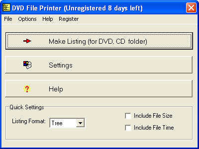 DVD File Printer