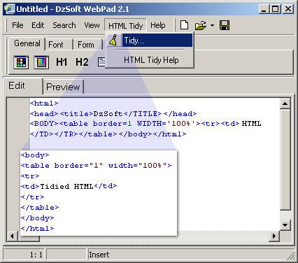 DzSoft WebPad