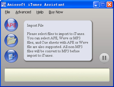 Convert a song to a different file format with iTunes