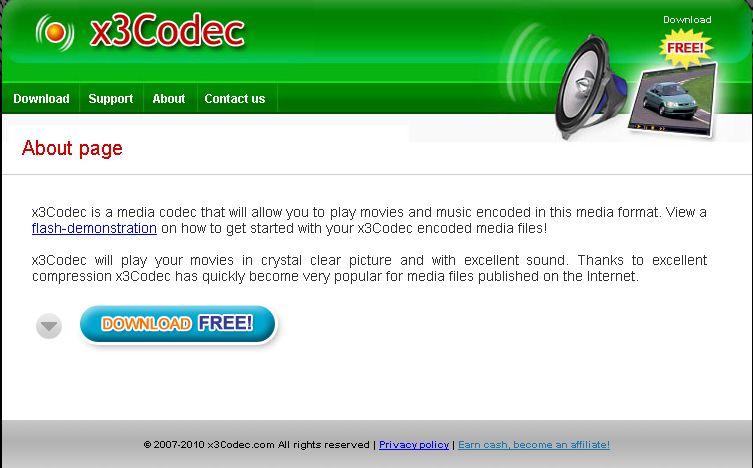 X3Codec