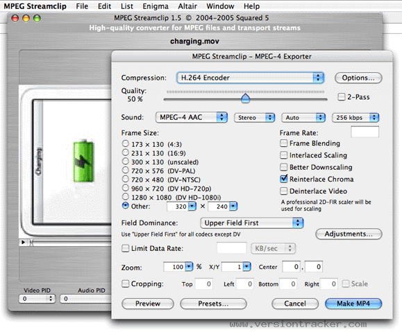MPEG Streamclip for Mac