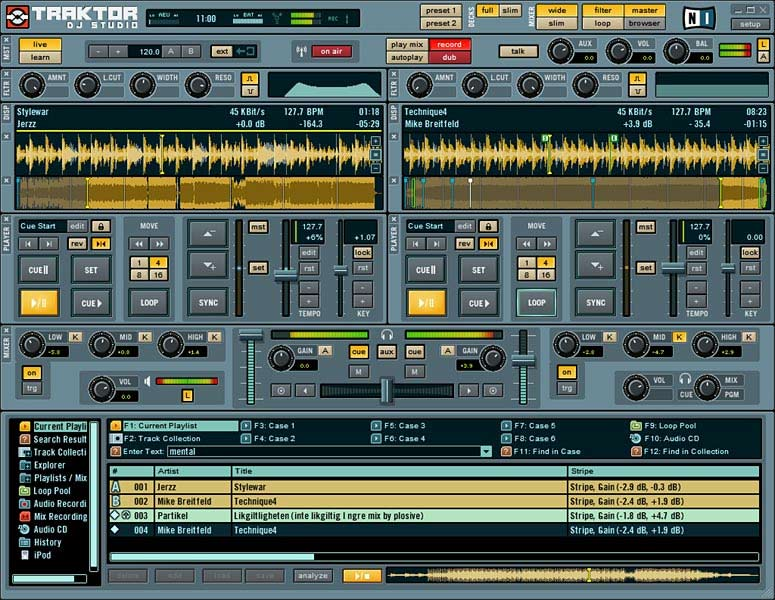 traktor mixing software free download