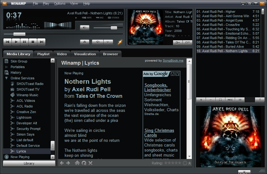 Winamp 5. 63 freeware download.