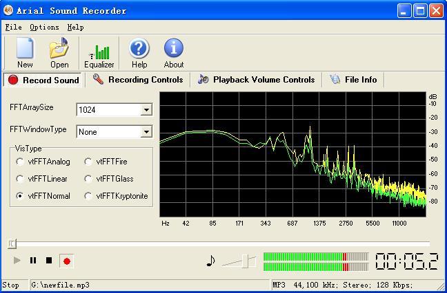 Вышла новая версия программы Arial Sound Recorder. Ее основное