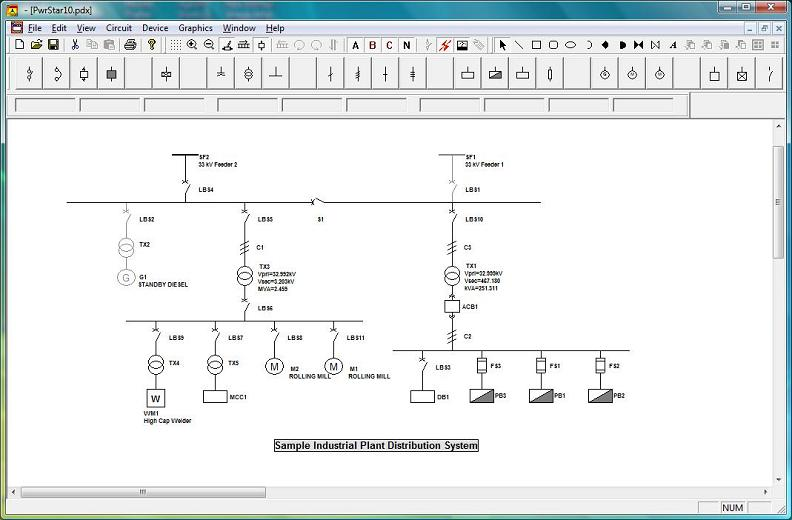 Building Electrical Wiring Design Software. Architectural Cad ...