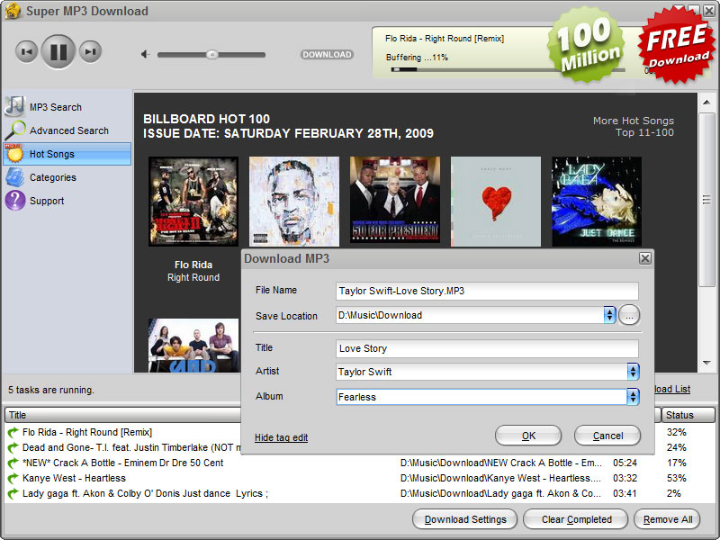 Super Mp3 Download 4.5.6.6
