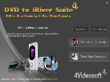 4Videosoft DVD to iRiver Suite