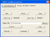 MPEG To Wav Converter
