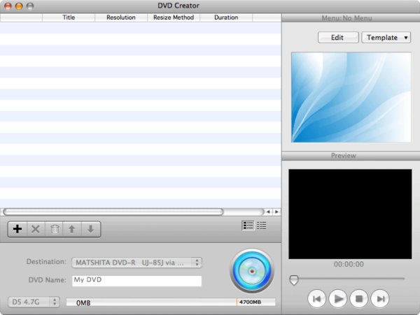 It can convert popular video formats to DVD and burn DVD movies with