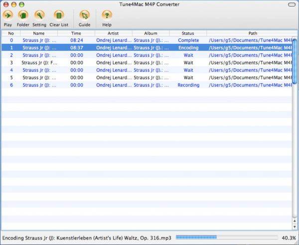 Tune4Mac M4P Converter for Mac
