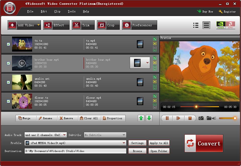 Данная программа может конвертировать практически любые видео и аудио.
