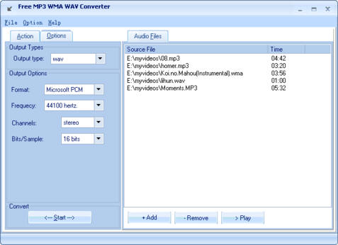 convert mp4 to wav online