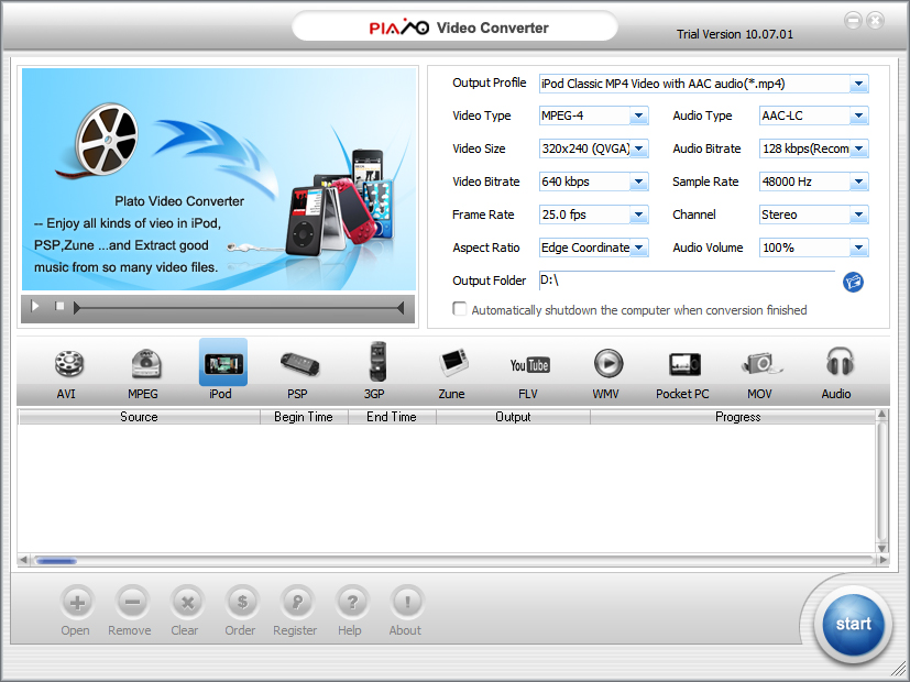 0. Clone2Go Video Converter Professional 1.9.5.