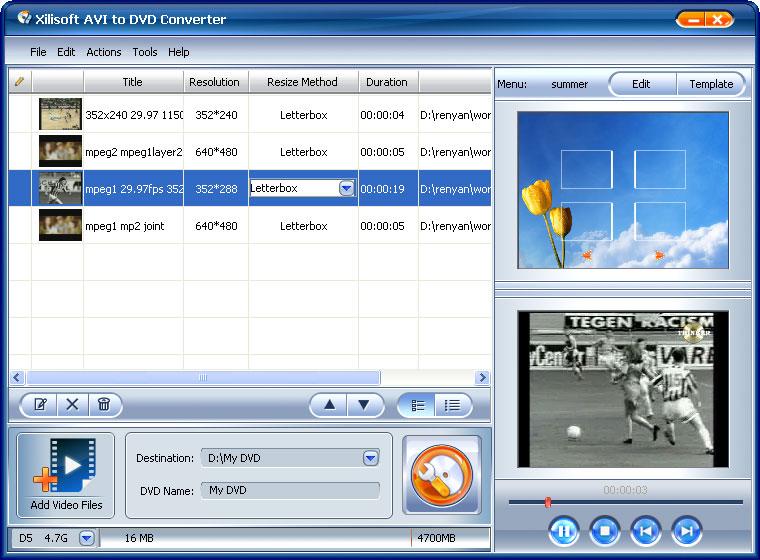 Вышла новая версия программы Xilisoft AVI to DVD Converter - это