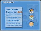 Cucusoft iPod Video Converter + DVD to iPod Suite