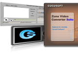 Cucusoft Zune Video Converter + DVD to Zune Suite