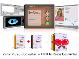 Zune Video Converter + DVD to Zune