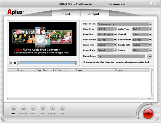 Aplus DVD to PSP Ripper Free Download - softpile.com