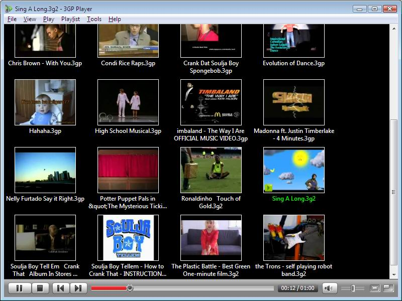 3gp кодек для windows media player: