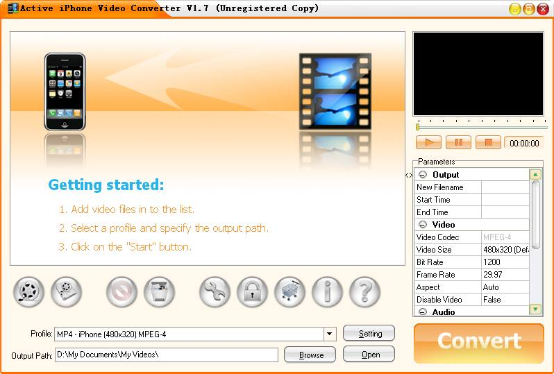 Active MPEG Video Converter 1.9.2 Portable.