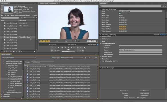 Adobe Premiere Pro.