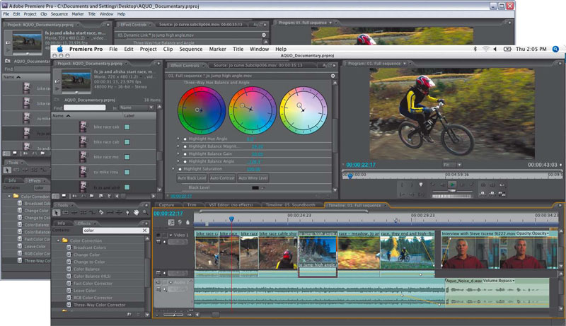 screenshot Adobe Premiere Pro CS5 5.0.3 1