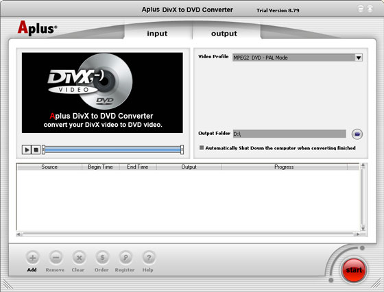 Aplus DVD Video to PSP Ripper 13.88 Free Download