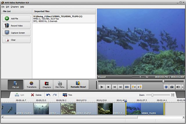 Resumenes por Capitulos: AVS Video Remaker 3.1.1.83