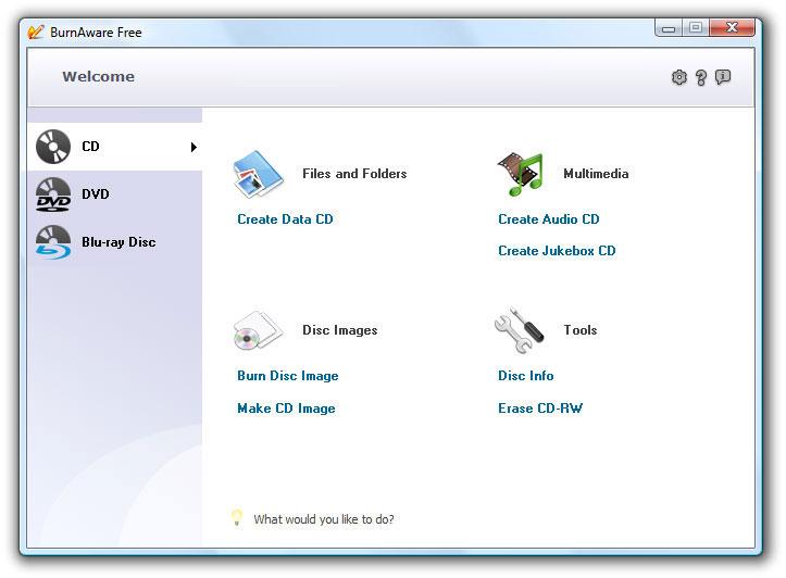 Описание: BurnAware Free - бесплатная и простая в использовании