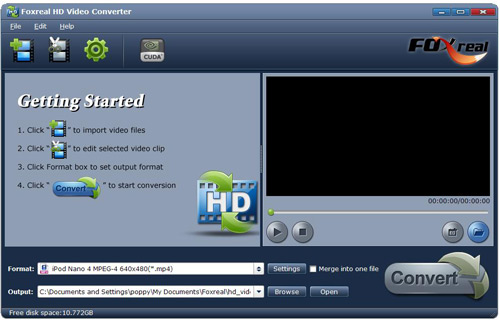 foxreal video converter download