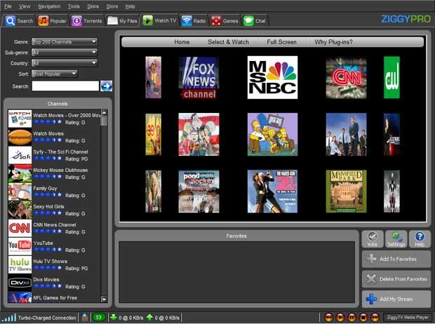 Ziggy TV 4 2 Freeware Download