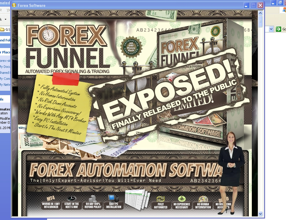 Automated forex scalping software