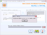 Freeware MySQL to MSSQL Converter