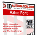 IDAutomation Aztec Font and Encoder