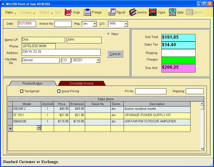 Retail Pos Lite 3 0 Screenshots