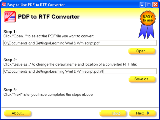 Easy-to-Use PDF to RTF Converter
