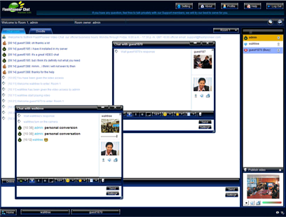 Open Source Chat Room With Webcam