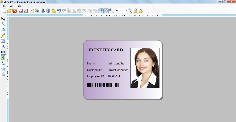 ID Card Designer 7.3.0.1 Free Download